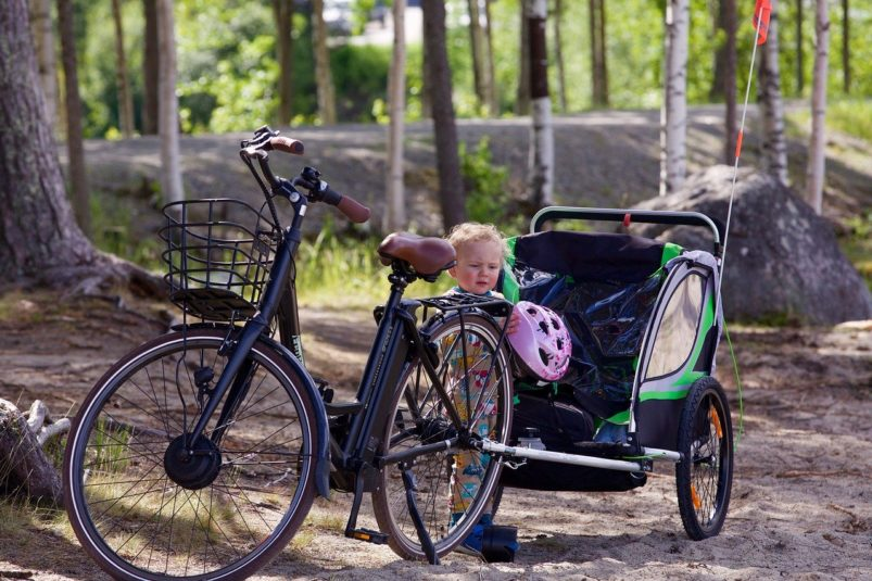 vyberomat.cz bike trailer for kids