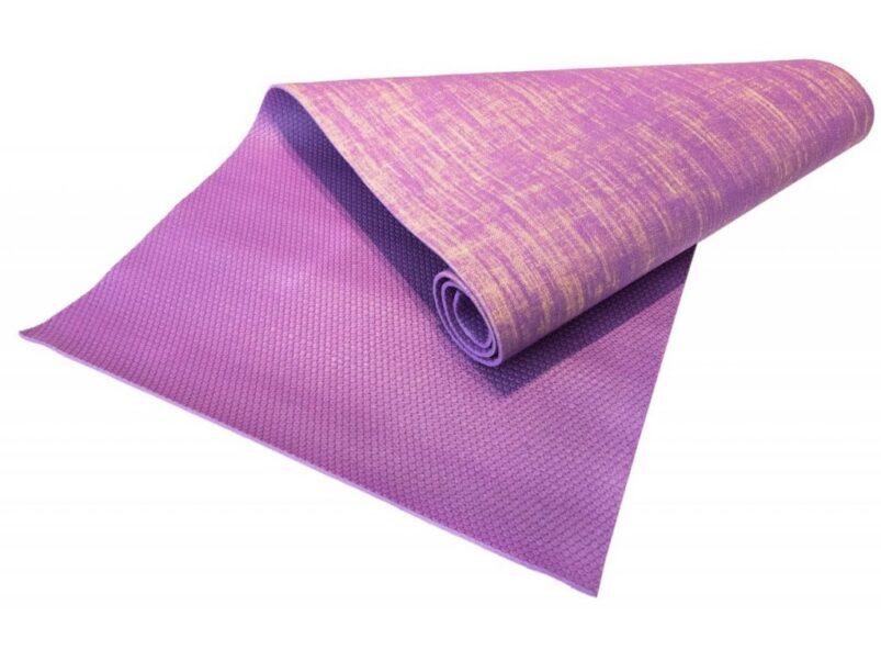 vyberomat cz joga podlozka sharp shape juta yoga mat purple